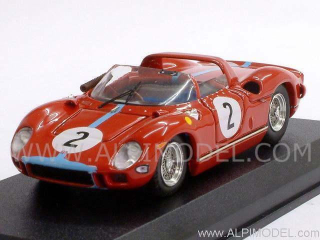 Ferrari 330 P Paris 1964 Hill - Bonnier 1 43 Art 180