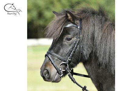 WALDHAUSEN UNICORN BRIDLE WITH REINS FOR MINI SHETLAND PONY HORSE