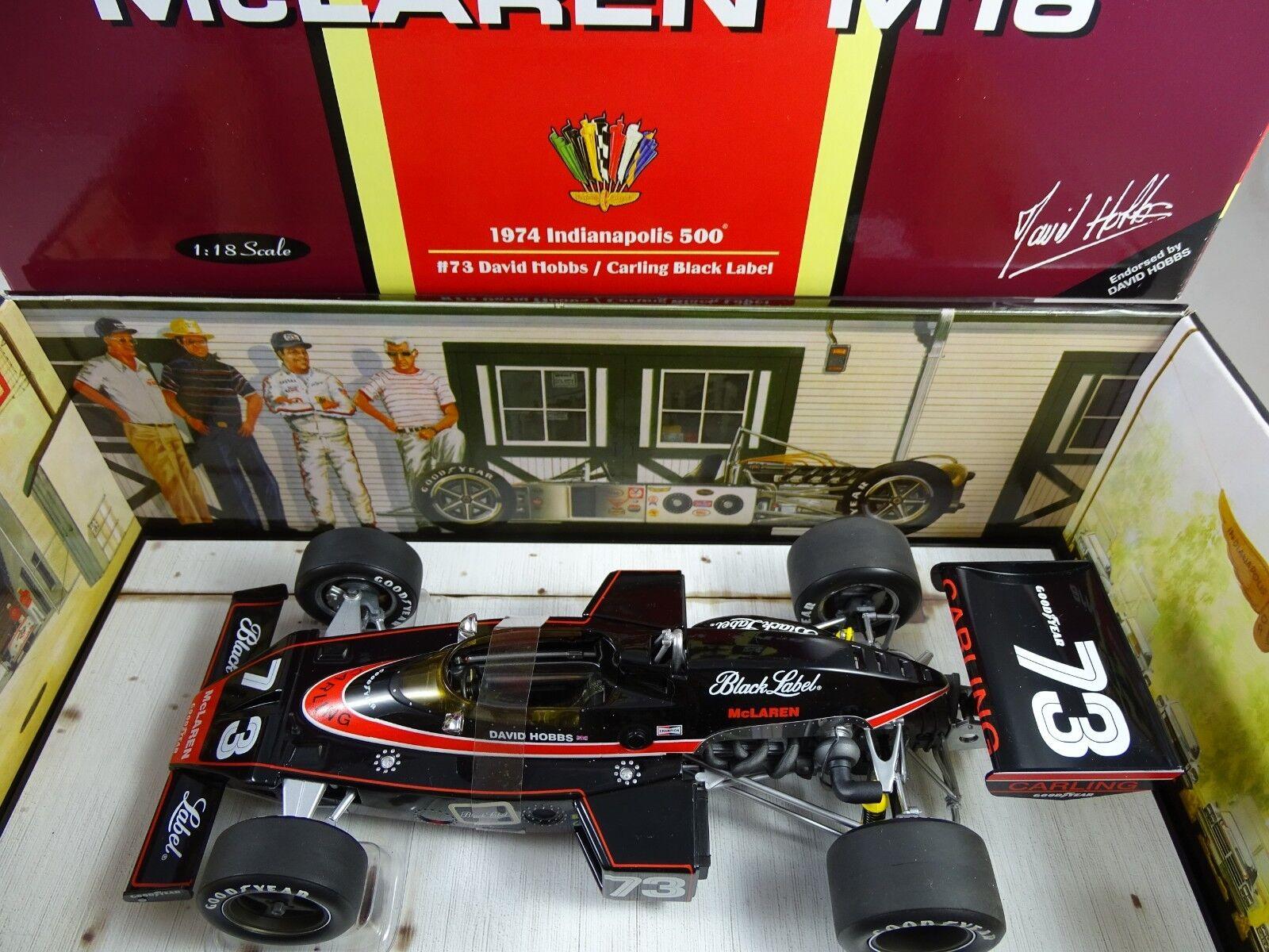 1:18 Carousel  4802 MC LAREN m16 1974 Indianapolis 500  73 rarità §