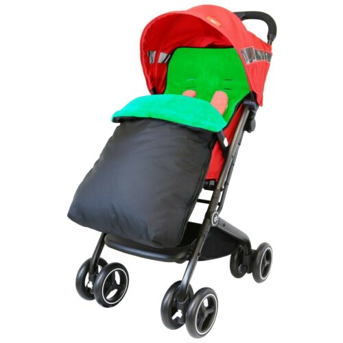 Premium Pushchair Footmuff Cosy Toes And Raincovers