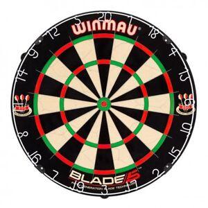 Dartboard-Winmau-Blade-5-Dartscheibe-Profi-Turnier-Board-Steeldart-Dart