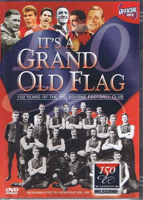 IT'S A GRAND OLD FLAG Melbourne Football Club 150th Anniversary DVD 2008 NEW AFL