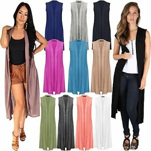 Sleeveless maxi cardigan dress