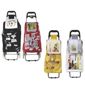 Carrello portaspesa trolley pieghevole su ruote borsa della per la porta spesa