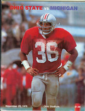 1978 Ohio State Michigan football program Woody Hayes last Michigan game