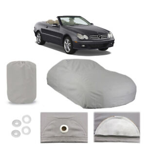 MERCEDES-BENZ-CLK-Class-5-Layer-Car-Cover-Fit-Outdoor-Water-Proof-Rain-Sun-Dust