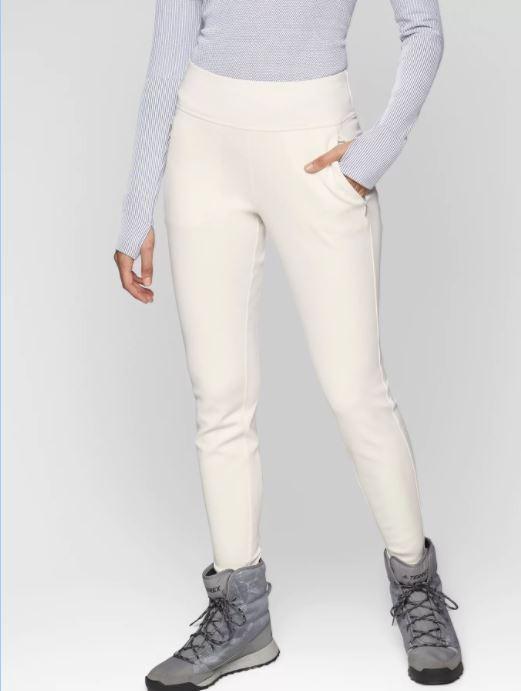 Athleta NEW Taos Snow pants, wind and water resistant winter ski, Sz 2 ,dove