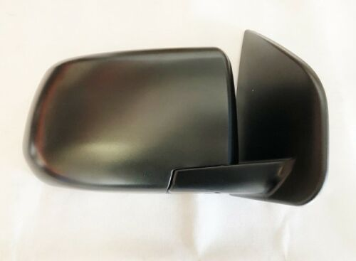 Door Mirror Black Manual R//H For Isuzu D-Max//Rodeo 2.5 Twin Turbo TFS86TT 2012+