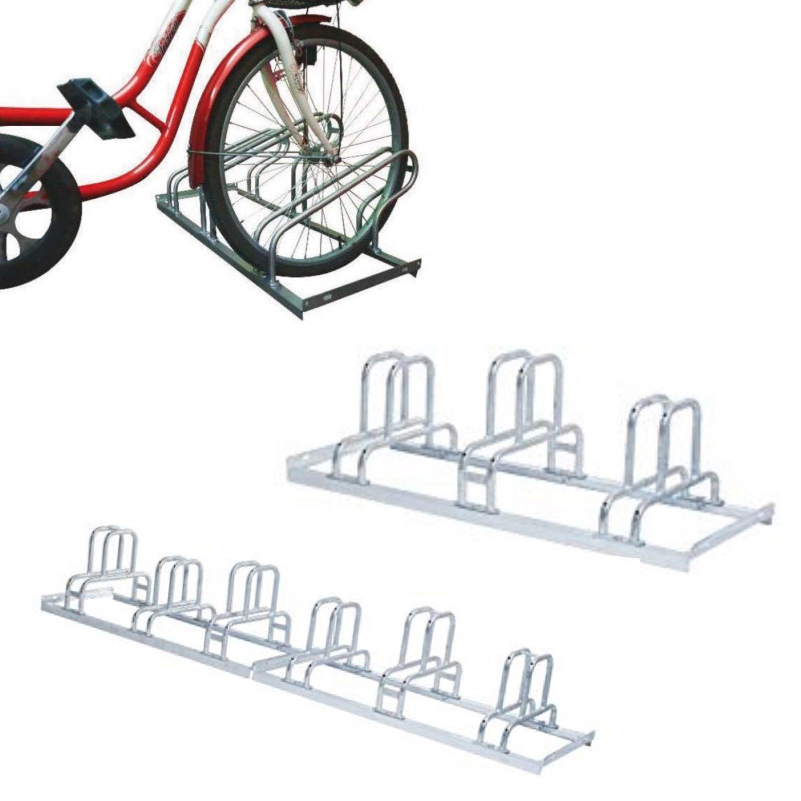 Fahrradständer Reihenparker California 3 oder 6 Stellplätze Reifenbreite 55 mm