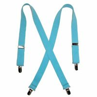 Suspender Factory 30 Powder Blue Elastic Children's Suspenders