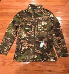 cf4b6e3c9400e Under Armour Mid Season Wool Camo Women's Hunting Jacket 1297842 ...