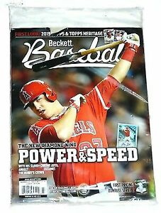 Baseball Card Guide Beckett April 2019 Francisco Lindor Cover