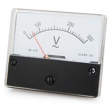 Messinstrument 0 - 300 V AC zum Einbau, Einbaumessinstrument, Analog Voltmeter