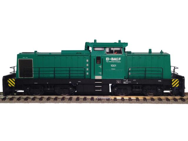 "Brawa 41210 Diesellok V100 BASF ""Grüner Klaus"" Gleichstrom DCC Sound H0 NEU OVP"