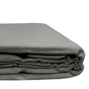 Free Shipping Organic Bamboo Blanket in Natural Grey
