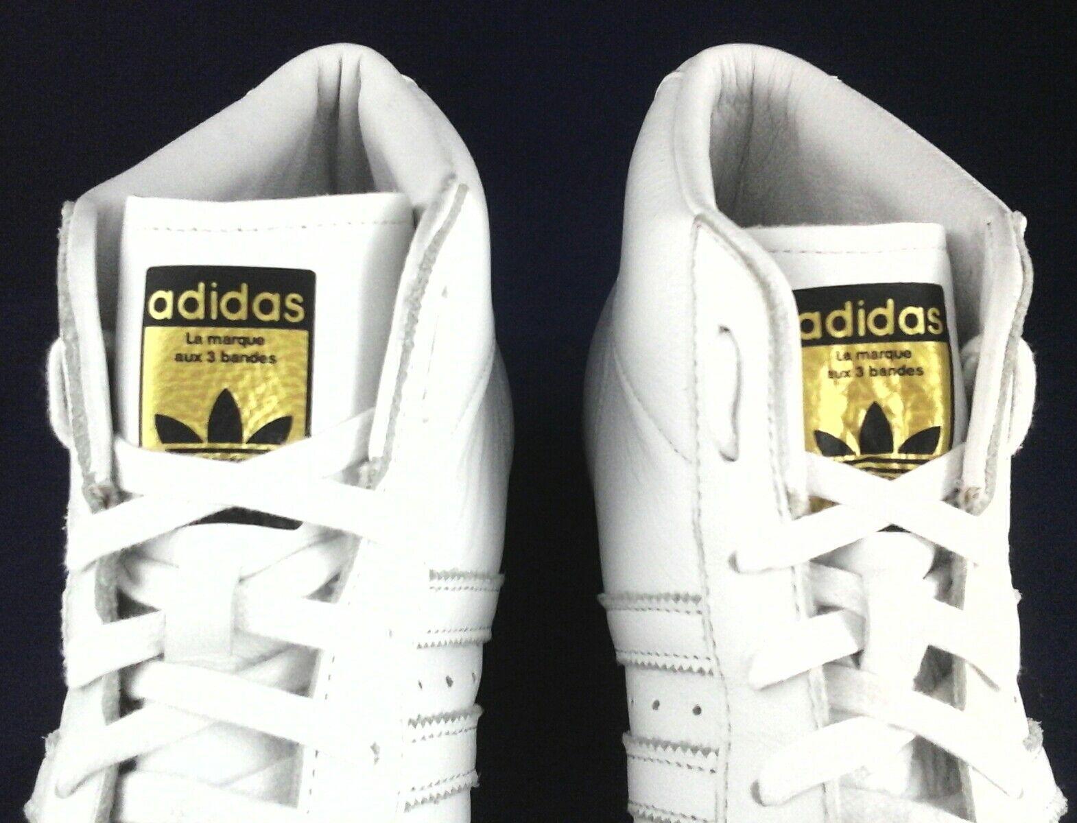 Adidas - turnschuhe, weiße high - top - modell bei bei bei uns s75841 11 / 3 120   2f1fa6