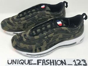 great fit 30d07 8fc77 Image is loading NIKE-AIR-MAX-97-FRANCE-COUNTRY-CAMO-PACK-