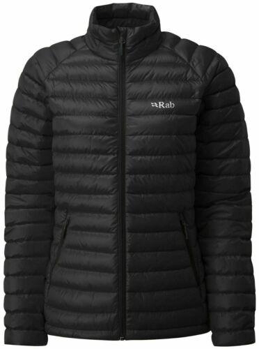 Rab pour femme Black /& Seaglass ultraléger Motorisé isolé down jacket femme UK 16 Bnwt