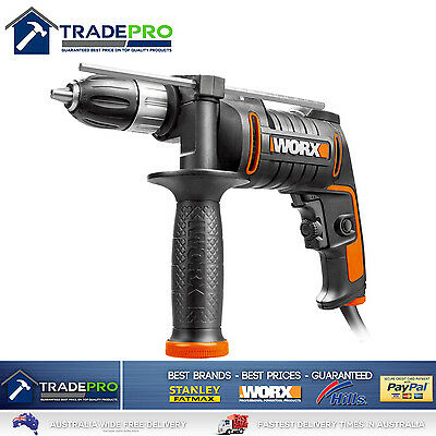 Electric Power Drill Impact 600w Worx® PRO Power 13mm Chuck V/Speed Driver