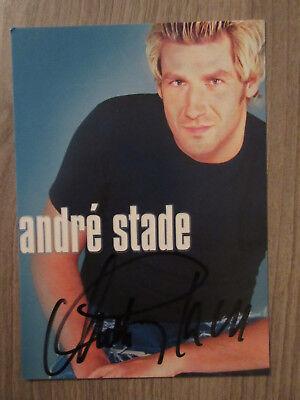 Autogramme & Autographen Musik Tt4 Sammeln & Seltenes Sanft Andre Stade Original Handsignierte Autogrammkarte