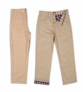 Stanley-Men-039-s-Big-Tall-Flannel-Lined-Twill-Pant-Khaki-38x30-NA8NS-M1009