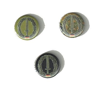 """Ksk """"button"""" Bundeswehr/bw/reservist/heer/soldat/armee/deutschland Gut FüR Energie Und Die Milz Buttons"""