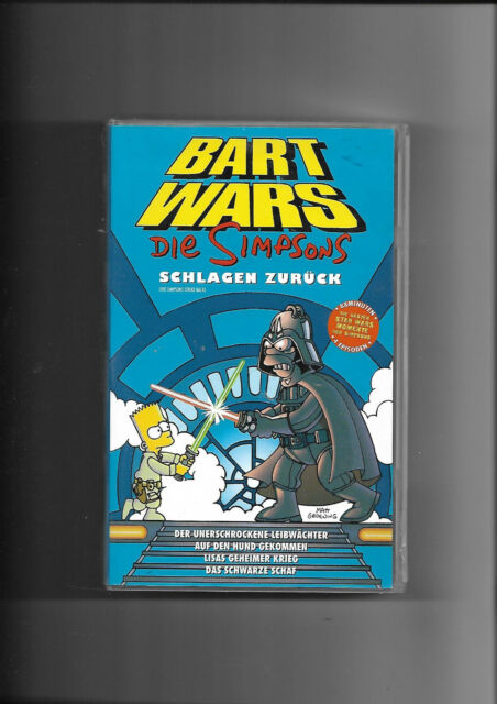 "7 VHS ""Simpsons"" Bart Wars Backstage Pass Hollywood Extra Scharf (Keine DVD)"