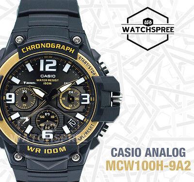 Casio Analog Watch MCW100H-9A2