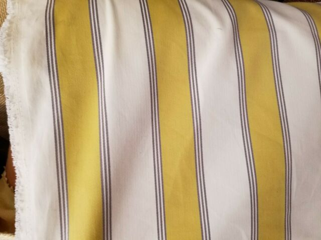 Stripe Cotton Canvas Home Decor Fabric 54