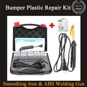 Abs Plastic Repair Kit >> Car Bumper Plastic Repair Kit Smoothing Iron Abs Welding Gun 200pcs