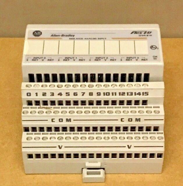 Nouveau Allen Bradley 1794-IF4I/Bon état 1794-TB3 Combo Flex I/O D'entrée Analogique