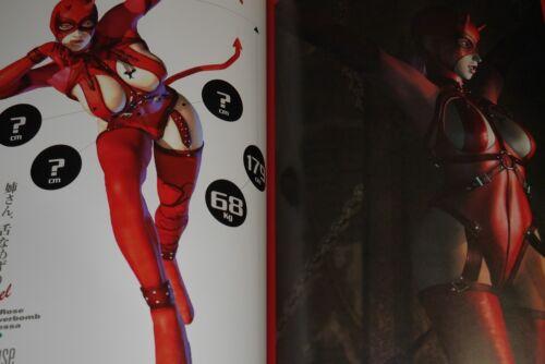 """JAPAN Rumble Roses /""""Three-Dimensional Photo Album/"""""""