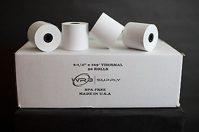 """SHARP XE-A207 6 NEW ROLLS  *FREE SHIPPING* 2-1//4/"""" x 230/' THERMAL PAPER"""