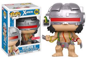 WEAPON-X-Funko-Pop-Vinyl-New-in-Mint-Box-Sticker-Protector
