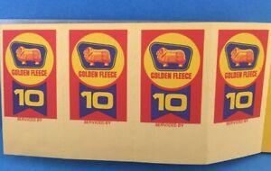 GOLDEN-FLEECE-Service-Windscreen-Sticker-1960s-x4