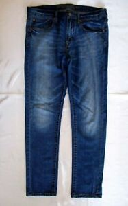 32 Détresse Cot Medblue Skinny Stretch 34 99 American décoloration Taille Mens Eagle 1 6xCpt
