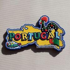 TOURIST SOUVENIR TRAVEL RUBBER FRIDGE MAGNET --- Portugal