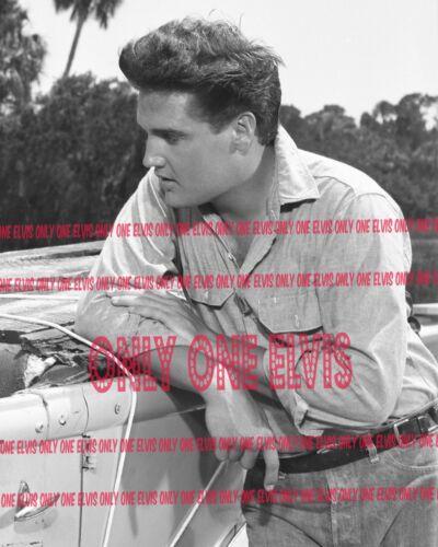 "1962 ELVIS PRESLEY in the MOVIES /""FOLLOW THAT DREAM/"" PHOTO /""10 Minute Break/"""