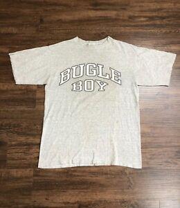 Vintage-90-s-Bugle-Boy-T-Shirt-Size-Medium-Single-Stitch-Graphic-Tee-Surf-Skate