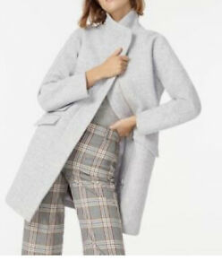 Wool-Blend-Vince-Camuto-Gray-City-Coat-Sz-Small-Petite