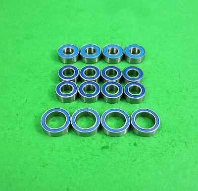16 PCS Metal Shielded PRECISION Ball Bearing Set FOR Tamiya TT-02 TT02