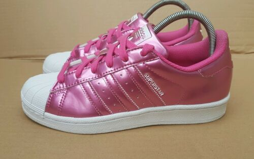 Superstar Size Uk White 5 Adidas Ice Pink Trainers 4 And Worn Rare Gorgeous Once zwt7xqEfS