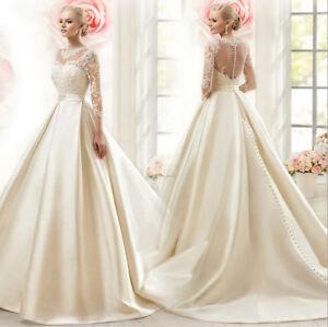 Luxus-Brautkleid-Hochzeitskleid-Kleid-Braut-Babycat-collection-ivory-Gr-36-BC577