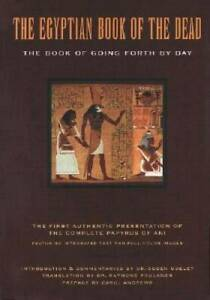 The-Egyptian-Book-of-the-Dead-The-Book-of-Going-Forth-by-Day-Paperback-GOOD