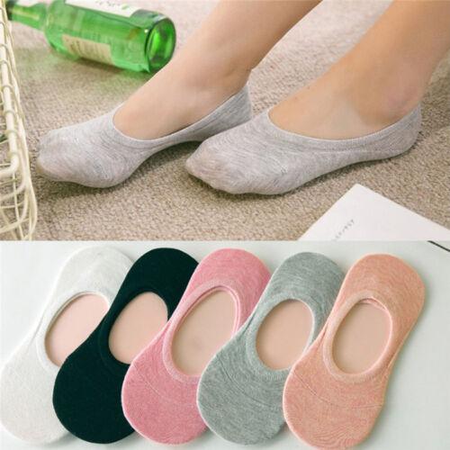 5 pairs Women Soft Candy Color Cotton Short Fashion Ankle Socks Random ColorBCD