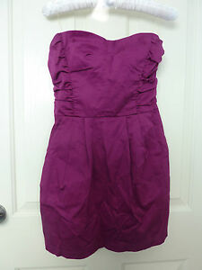 Kouture-by-Kimora-Purple-Strapless-Dress-Size-S-Pre-owned-Good-Condition