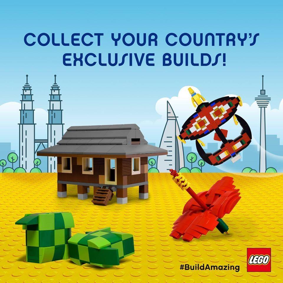Lego 6218707 - Malaysia Limited Edition Edition Edition Ketupat Traditional Rice MISB c063b9