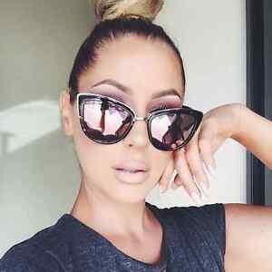 2f41a4baee6 NEW QUAY My Girl Black Tortoise Pink Mirror Sunglasses 9343963003352 ...