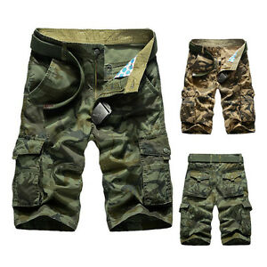 Men-Shorts-Casual-Army-Military-Cargo-Camouflage-Sports-Loose-Short-Pants-Hot