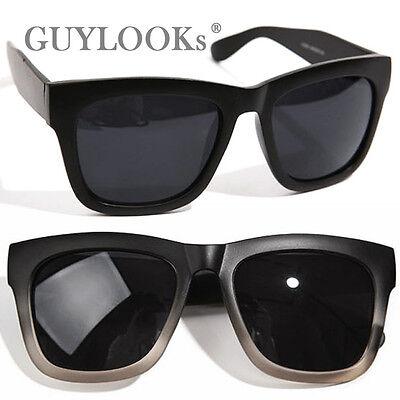 Oversized Retro Chic Mens Kpop Star Design Acetate Sunglasses w Case Guylook